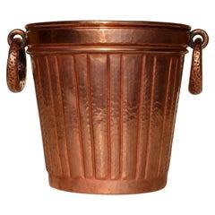 1950s Egidio Casagrande Italian Art Design Midcentury Copper Wine Cooler