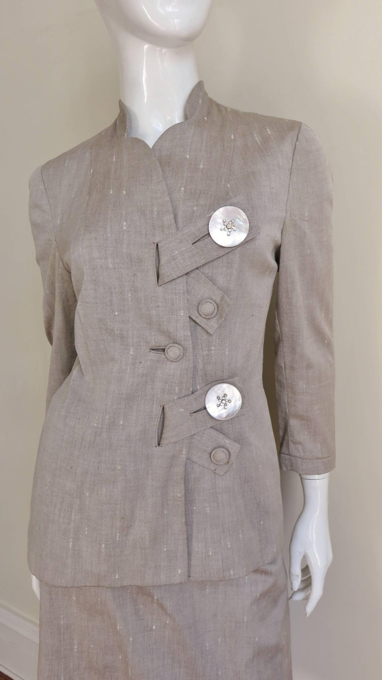 1950s Eisenberg Originals Suit In Good Condition For Sale In New York, NY