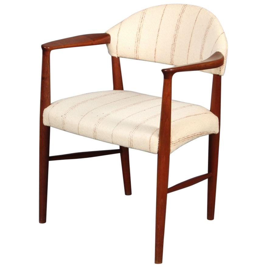 1950s Ejnar Larsen and Aksel Bender Madsen Teak Armchair - Choice of Upholstery