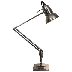 1950s English Herbert Terry Anglepoise Desk Lamp by George Carwardine