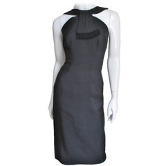 1950s Estevez Silk Bodycon Dress