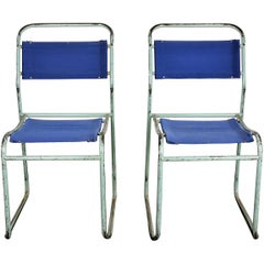 1950s Exceptional Pair of Cox Dining Chairs