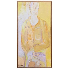 1950's Figurative Painting