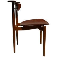 1950s Finn Juhl Reading Chair for Bovirke in Teak and Oak BO62 / BO53