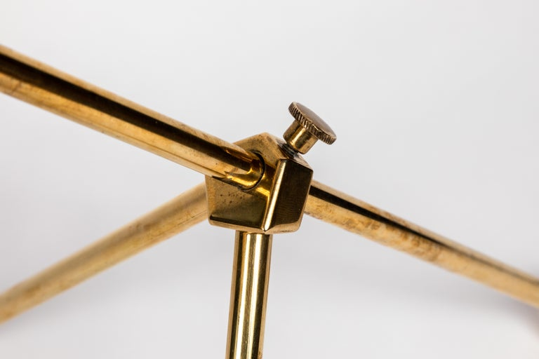 1950s Finnish Brass Table Lamp For Sale 9