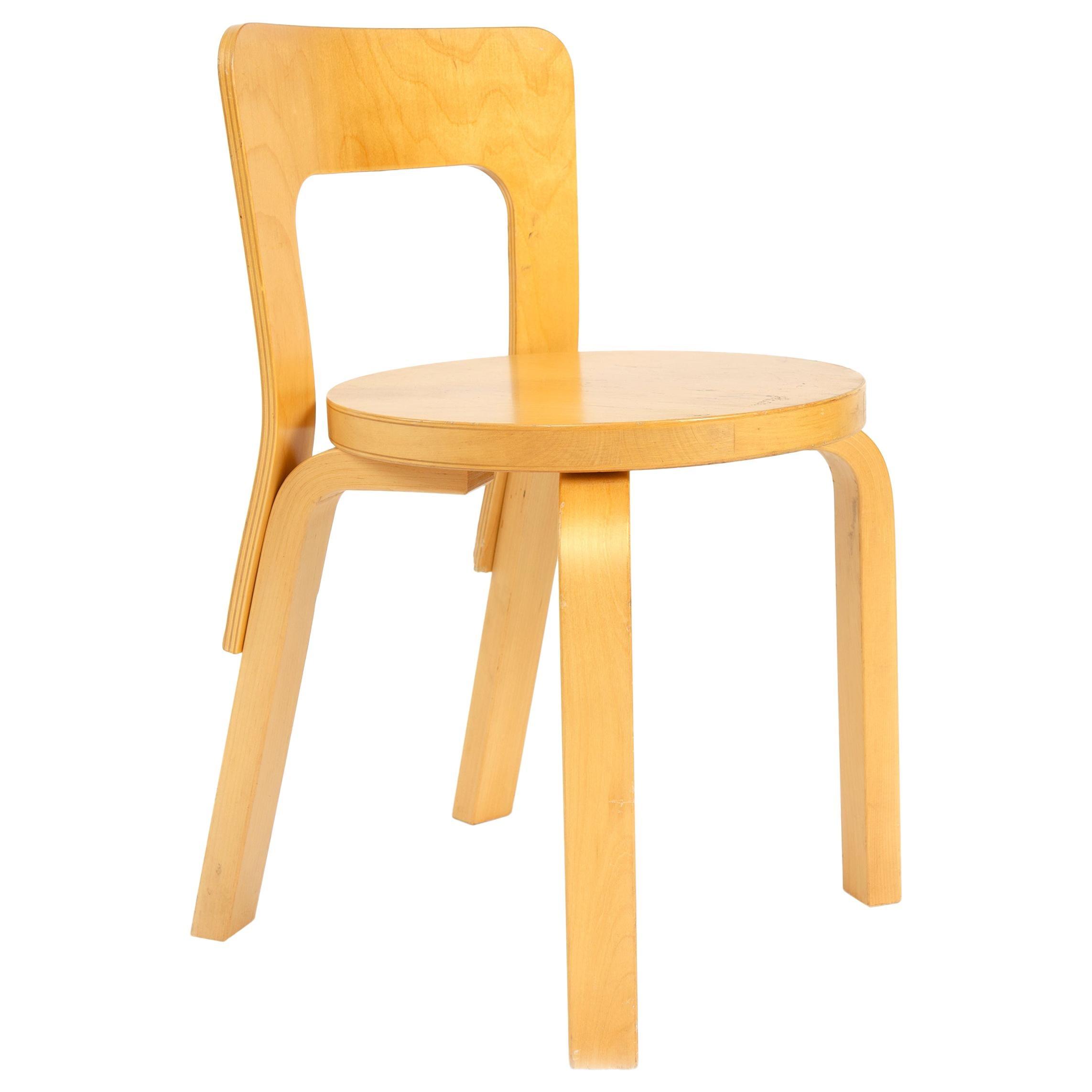 1950s Finnish Side Chair by Alvar Aalto for Artek