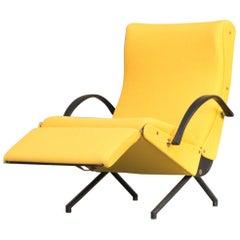 1950s First Edition Osvaldo Borsani 'P40' Louge Chair for Tecno
