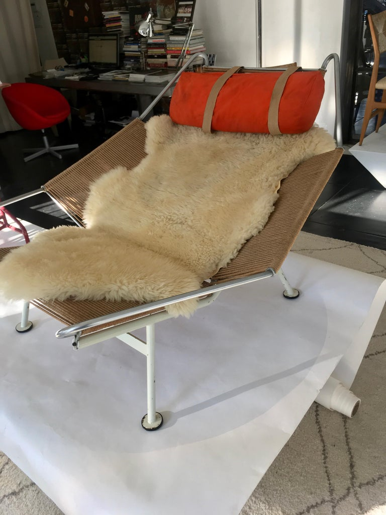 Early Edition Flag Chair by Hans J. Wegner For Sale 2