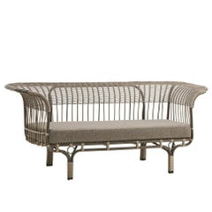 1950s Franco Albini Design Outdoor Sofa