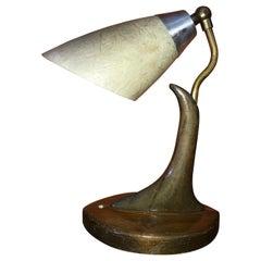 Vintage 1950's Eugenio Escudero Sculptural Petite Lamp