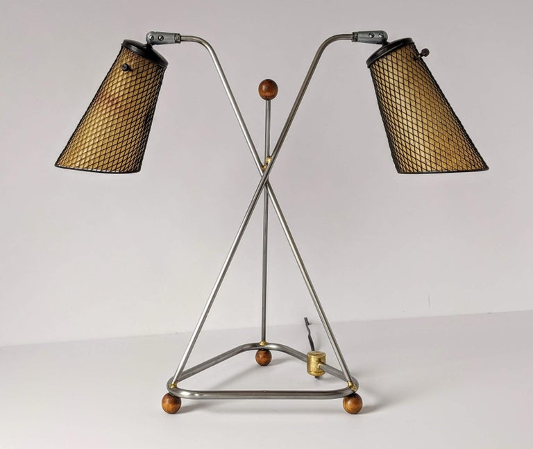 1950s Frederick Weinberg Table Lamp, USA For Sale 9
