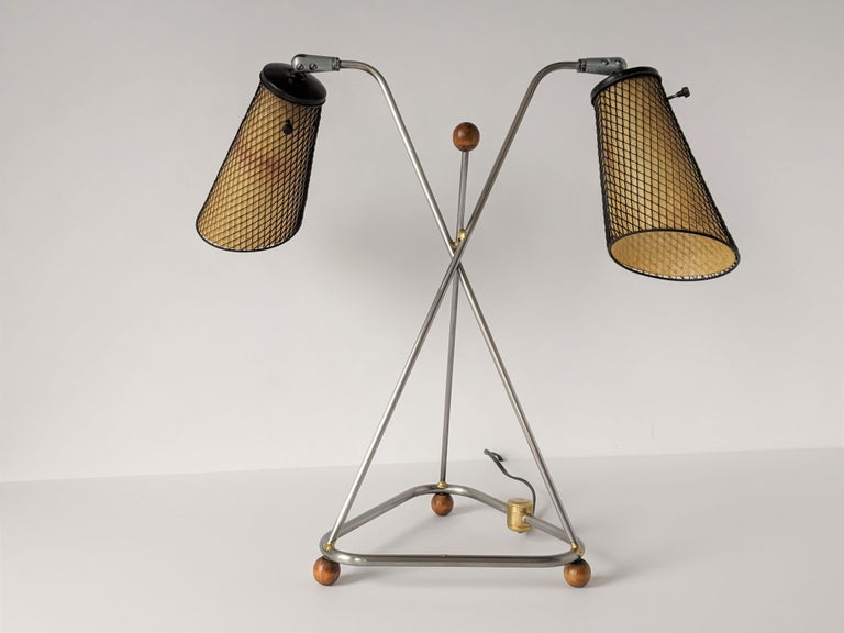 American 1950s Frederick Weinberg Table Lamp, USA For Sale