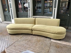 1950's Free-Form Sectional Sofa