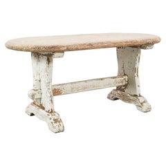1950s French Farmhouse Oak Coffee Table