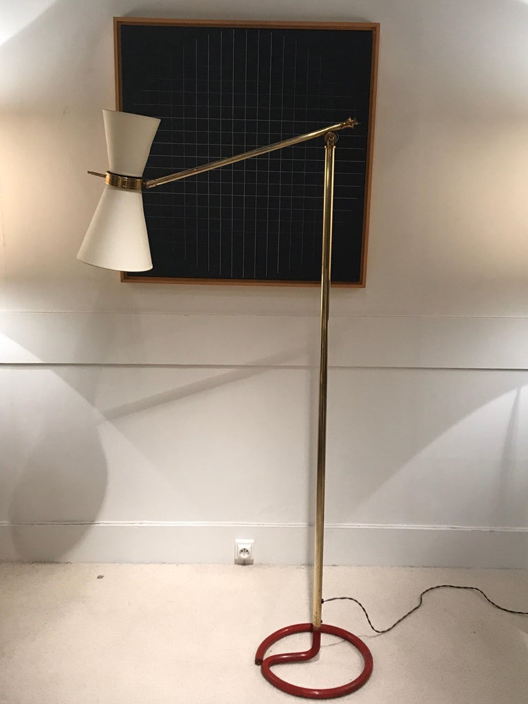 1950s French Floor Lamp For Sale 7