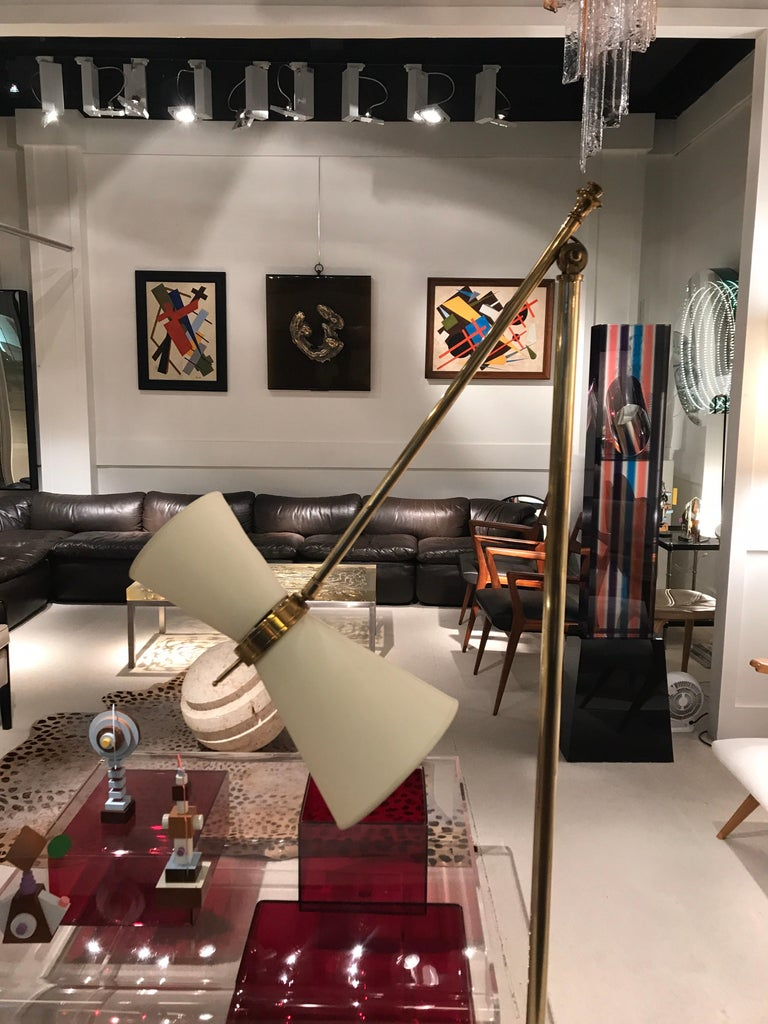 1950s French Floor Lamp In Good Condition For Sale In Saint-Ouen, FR