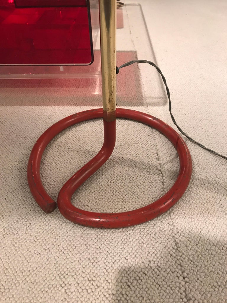 1950s French Floor Lamp For Sale 2