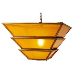 1950's French Large Scale Pendants