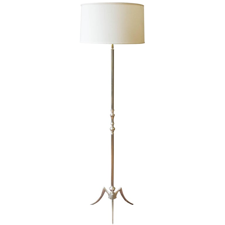 1950s French Mid Century Modern Floor Lamp