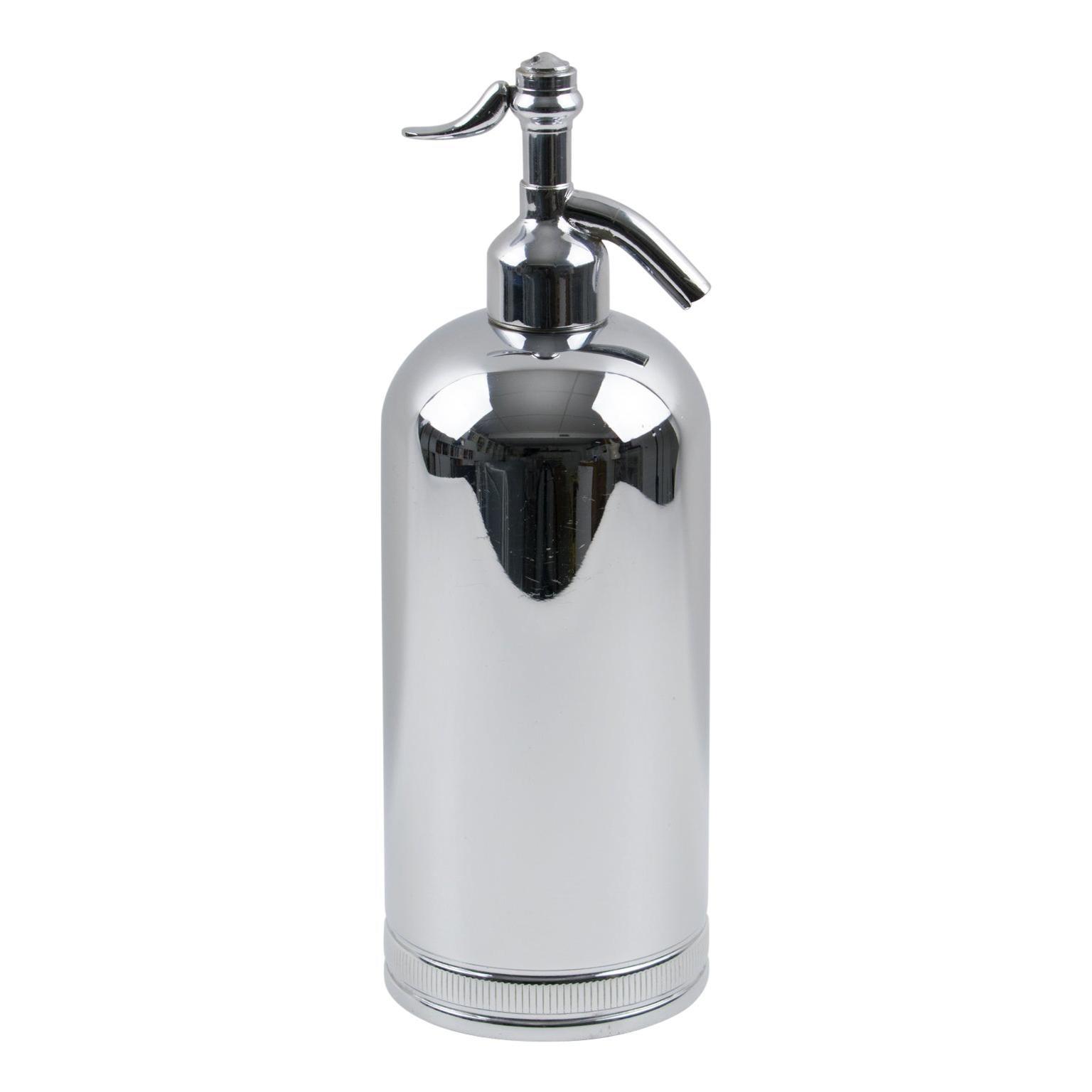 1950s French Soda Siphon Seltzer Water Bottle