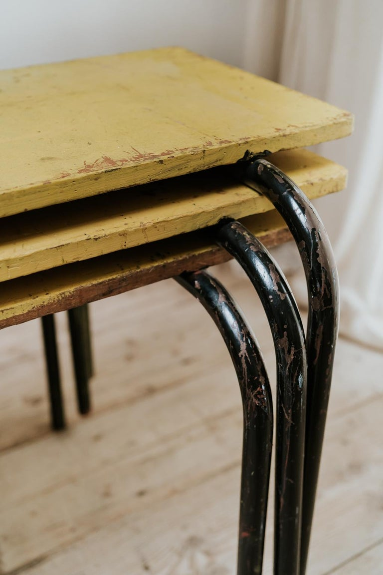 1950s French Stackable Stella Tables For Sale 4