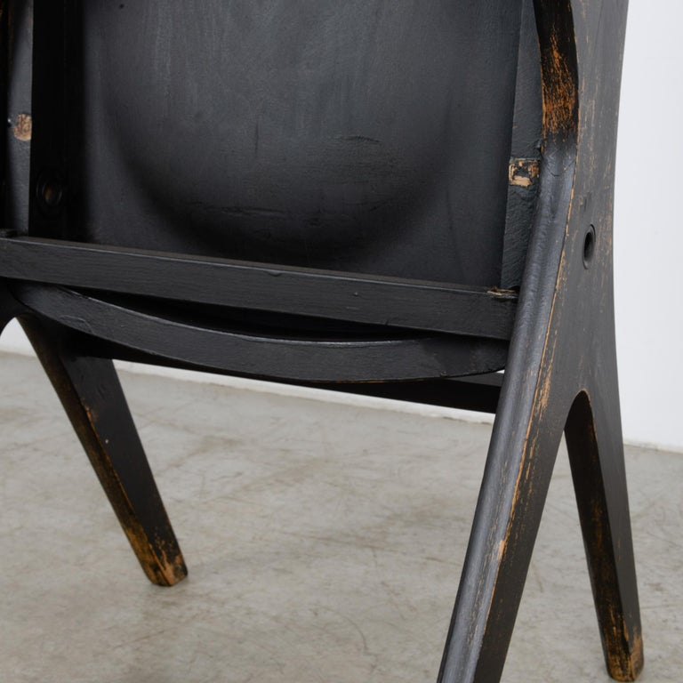1950s French Wooden Folding Chair 6