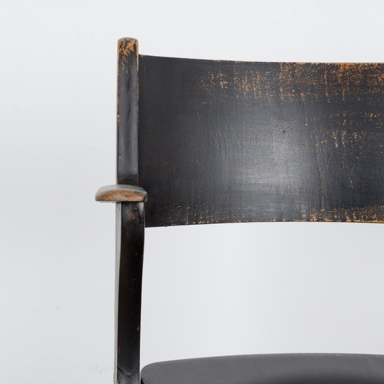 1950s French Wooden Folding Chair 4