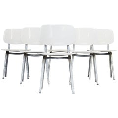 1950s Friso Kramer 'Revolt' Chair for Ahrend Set of 6