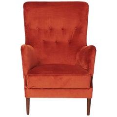 """1950s Frits Henningsen """"Easy Chair"""""""