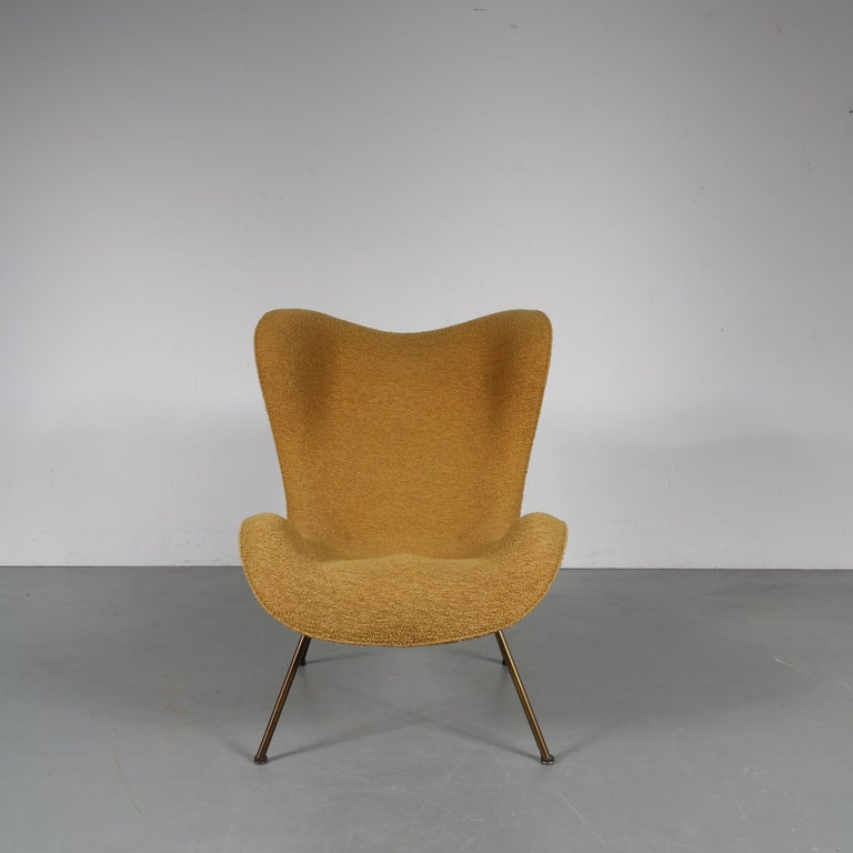 """Mid-Century Modern 1950s Fritz Neth """"Madame"""" Chair for Correcta, Germany, 1950 For Sale"""