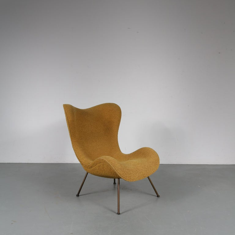 """1950s Fritz Neth """"Madame"""" Chair for Correcta, Germany, 1950 In Good Condition For Sale In Amsterdam, NL"""