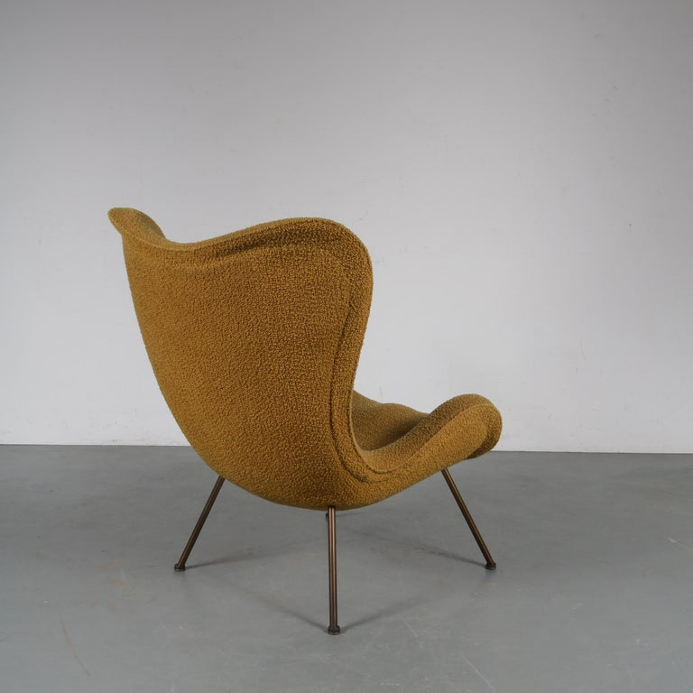 """Metal 1950s Fritz Neth """"Madame"""" Chair for Correcta, Germany, 1950 For Sale"""