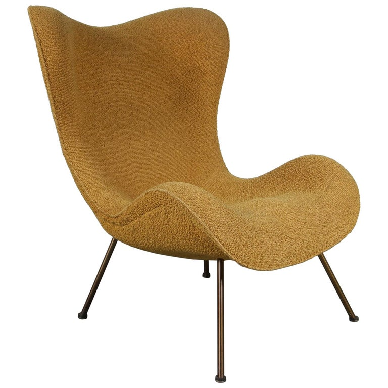 """1950s Fritz Neth """"Madame"""" Chair for Correcta, Germany, 1950 For Sale"""