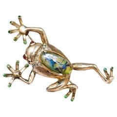 1950s Frog Brooch