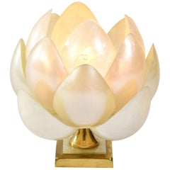 1950s 'Full Bloom' Lotus Table Lamp