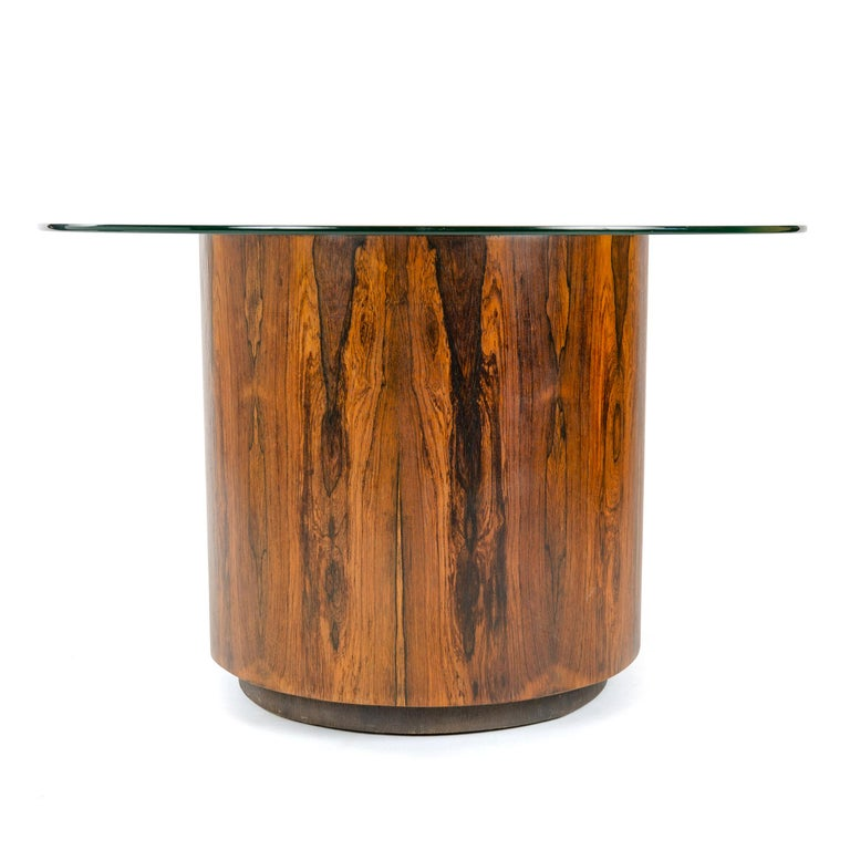 Mid-Century Modern 1950s Game or Dining Table in the Style of Milo Baughman For Sale