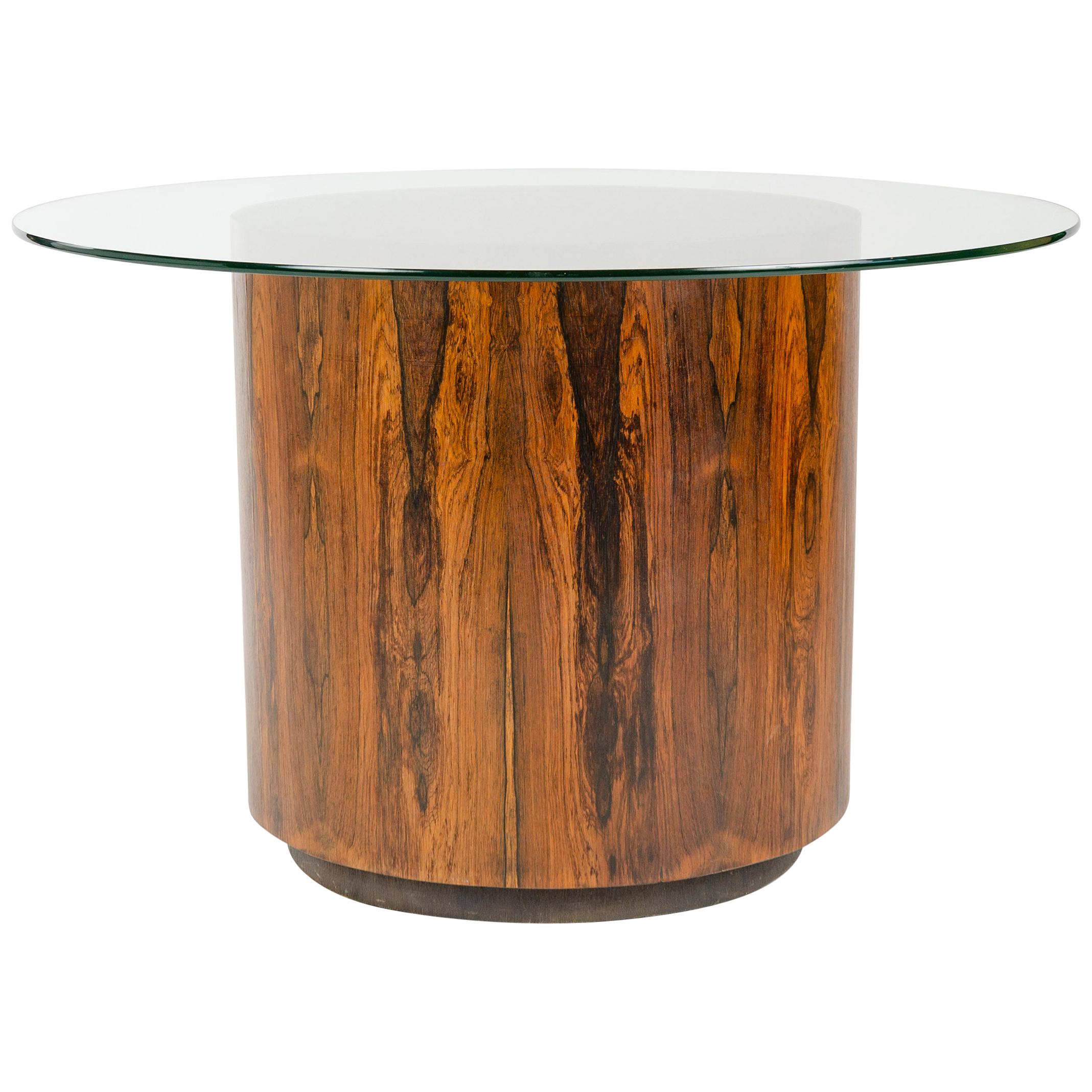 1950s Game or Dining Table in the Style of Milo Baughman