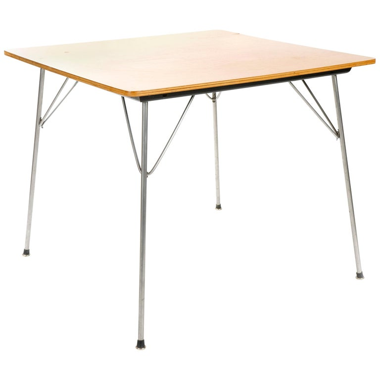 1950s Gaming Table by Charles Eames for Herman Miller For Sale