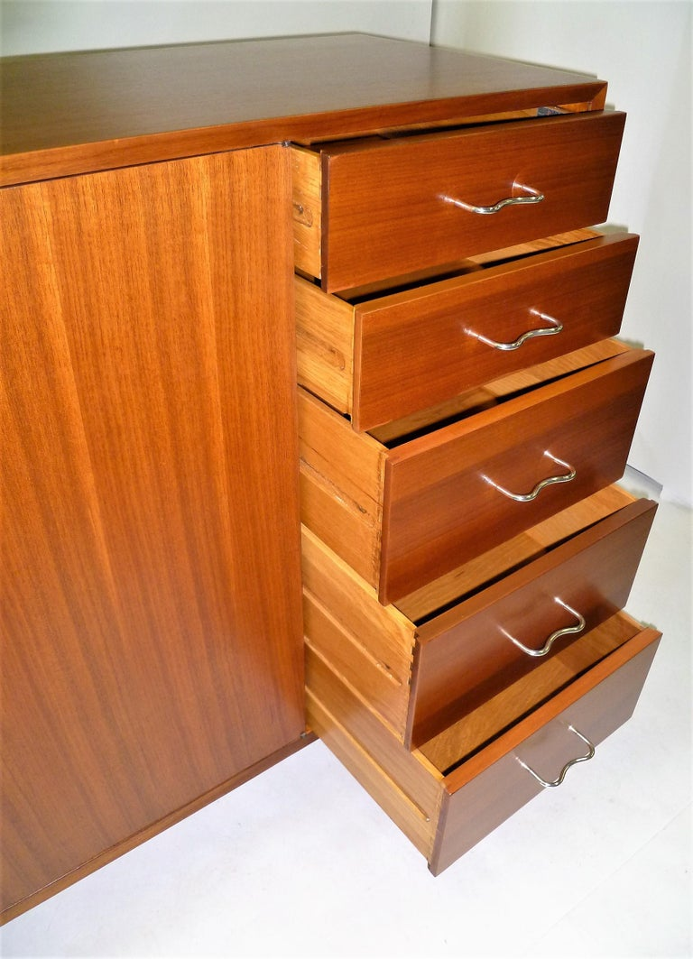 1950s George Nelson Credenza Buffet Sideboard for the Herman Miller Collection For Sale 5