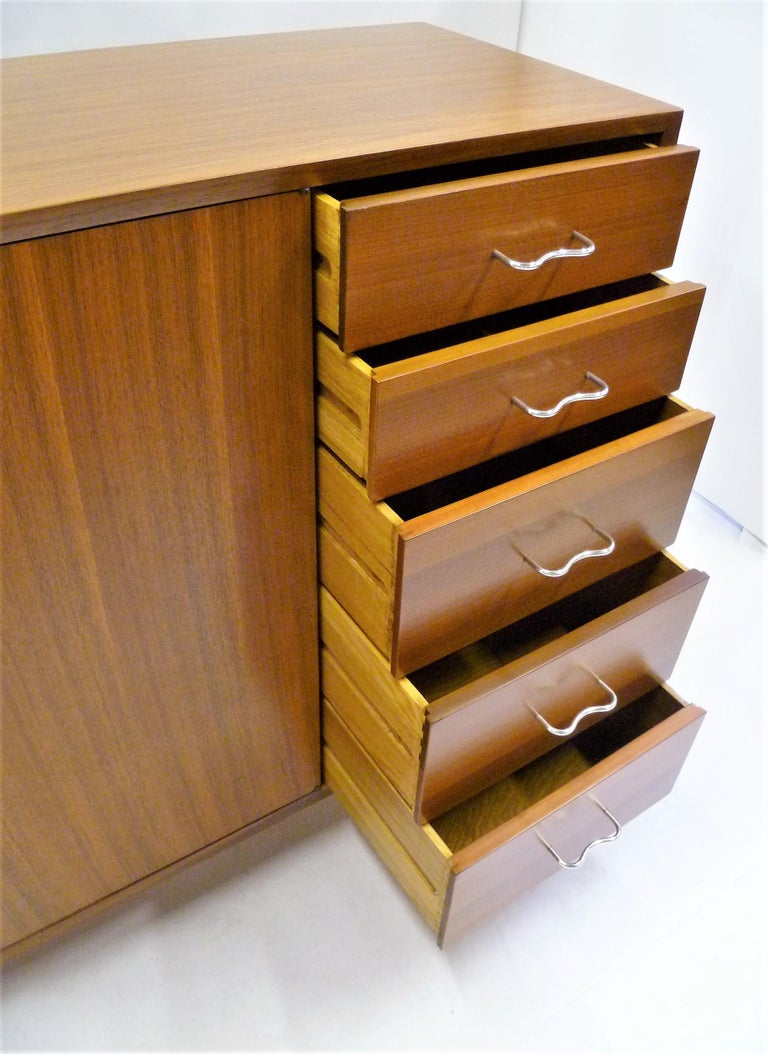 1950s George Nelson Credenza Buffet Sideboard for the Herman Miller Collection For Sale 6