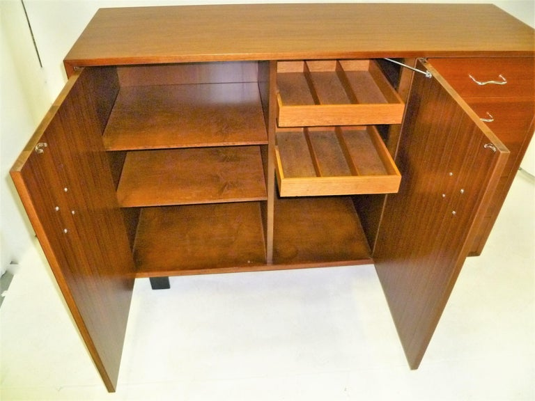 1950s George Nelson Credenza Buffet Sideboard for the Herman Miller Collection For Sale 7