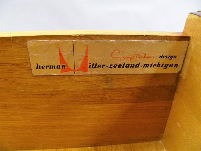 1950s George Nelson Credenza Buffet Sideboard for the Herman Miller Collection For Sale 9