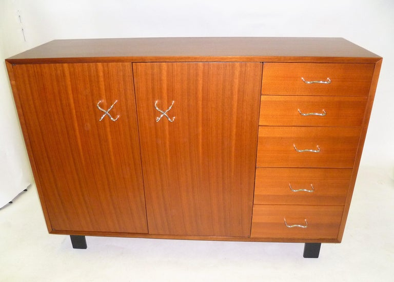 Mid-Century Modern 1950s George Nelson Credenza Buffet Sideboard for the Herman Miller Collection For Sale