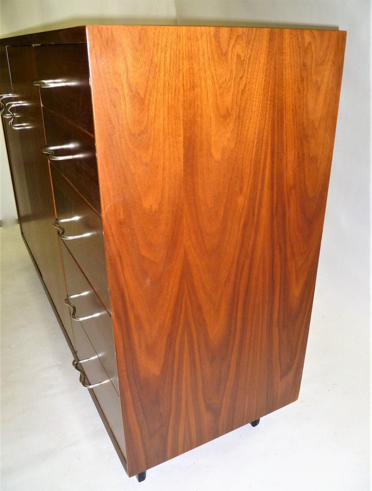1950s George Nelson Credenza Buffet Sideboard for the Herman Miller Collection In Good Condition For Sale In Miami, FL