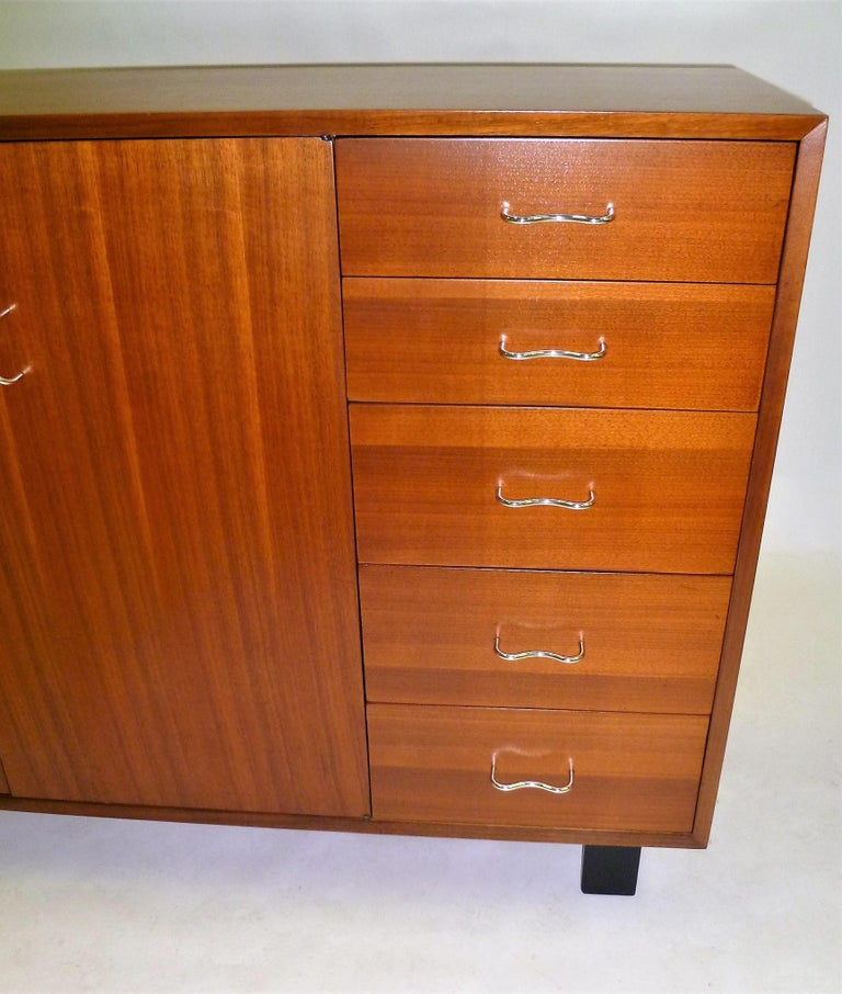 1950s George Nelson Credenza Buffet Sideboard for the Herman Miller Collection For Sale 1