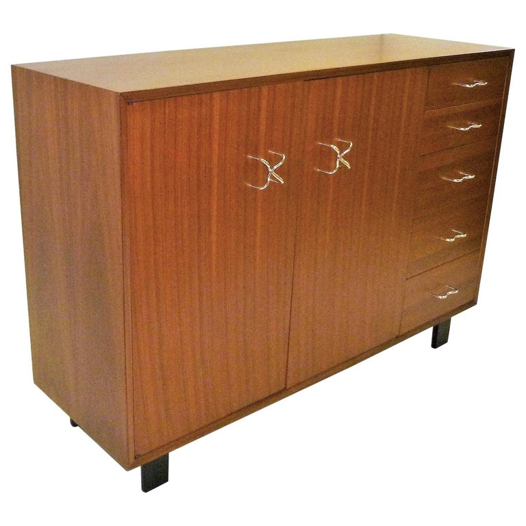 1950s George Nelson Credenza Buffet Sideboard for the Herman Miller Collection For Sale