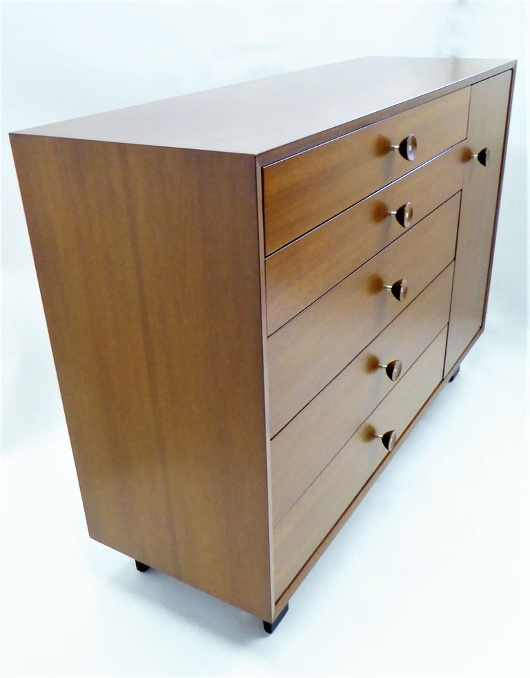 Mid-Century Modern 1950s George Nelson Dresser Credenza for the Herman Miller Collection For Sale