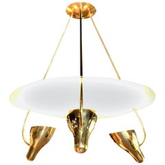 1950s Gerald Thurston Chandelier for Lightolier