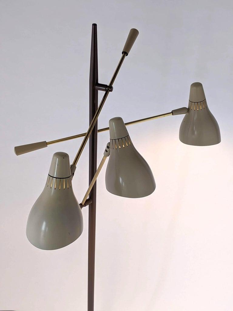 1950s Gerald Thurston Triennale Floor Lamp for Lightolier, USA For Sale 2