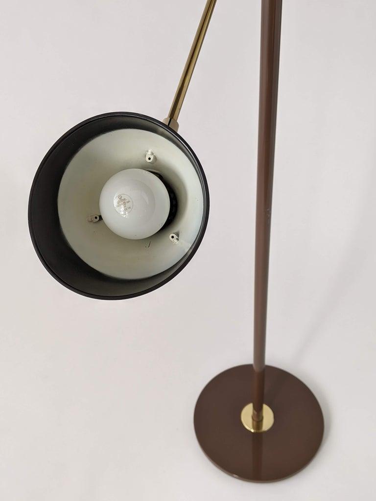 1950s Gerald Thurston Triennale Floor Lamp for Lightolier, USA For Sale 7